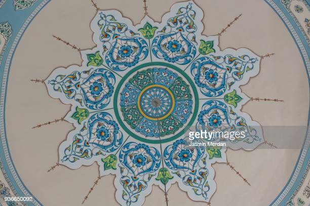 Tilework at Shah Mosque