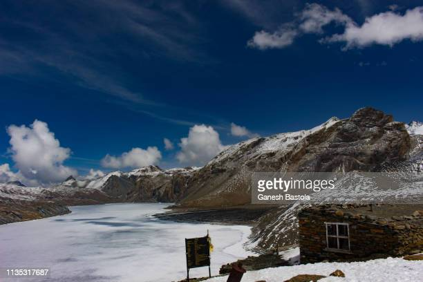 Tilicho Lake:4919M from Sea Level