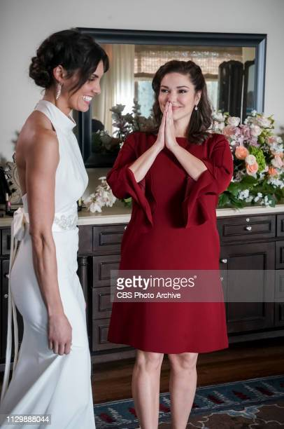 Till Death Do Us Part Pictured Daniela Ruah and Laura Harring After months of planning the NCIS family celebrates the wedding of Kensi and Deeks Also...