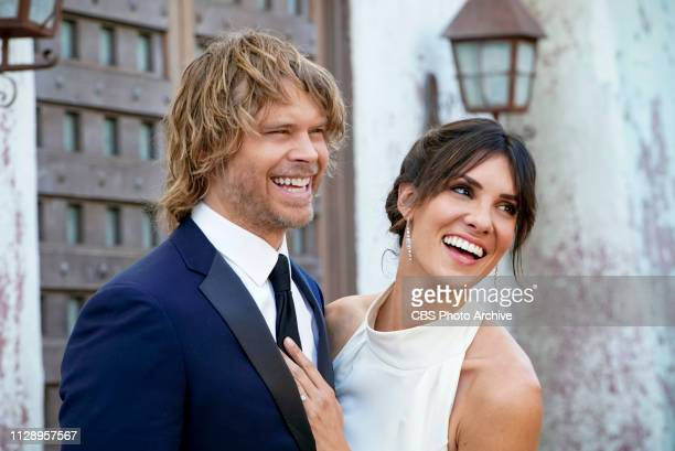 Till Death Do Us Part Pictured Eric Christian Olsen and Daniela Ruah After months of planning the NCIS family celebrates the wedding of Kensi and...