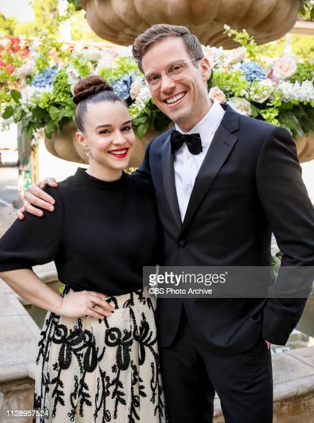 Till Death Do Us Part Pictured Renée Felice Smith and Barrett Foa After months of planning the NCIS family celebrates the wedding of Kensi and Deeks...