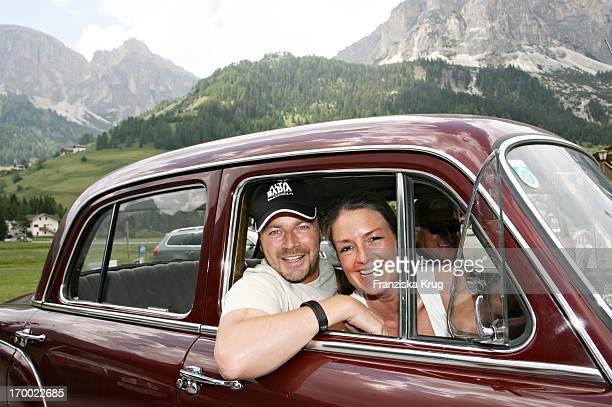 "Till Demtröder And wife Julia On The ""big border traffic"" between Leogang Saalfelden And Alta Badia 240606."