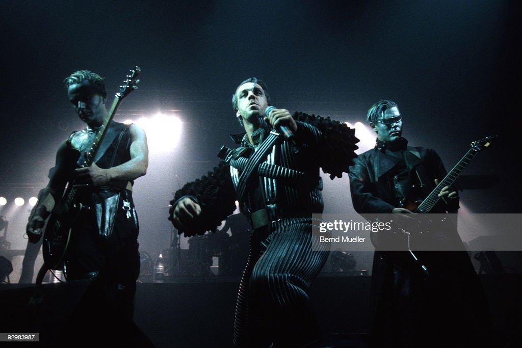 Rammstein Perform In Munich : News Photo