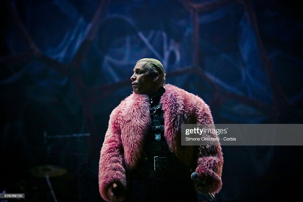 Rammstein live in Rome : News Photo
