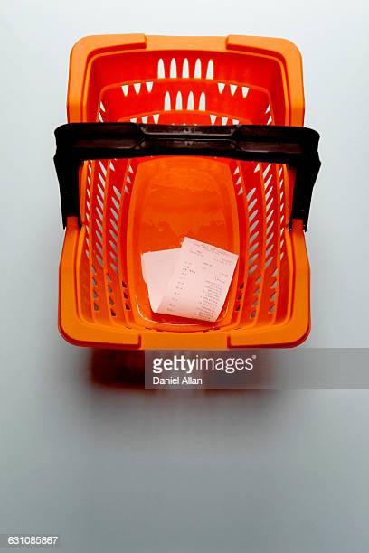 Till receipt in Basket