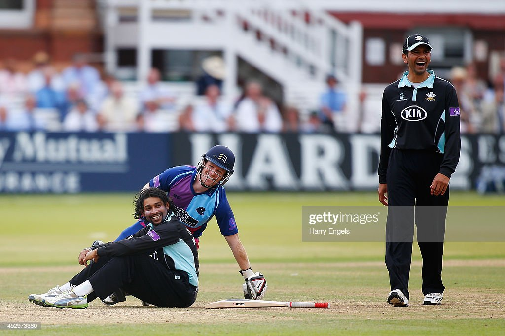 Middlesex Panthers v Surrey - Royal London One-Day Cup 2014