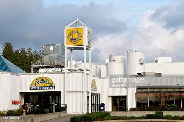 Tillamook Cheese Factory Entrance Oregon Coast