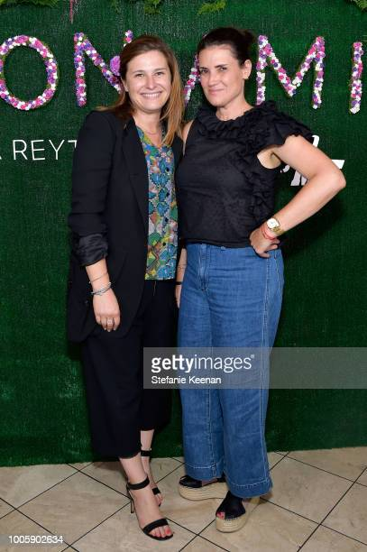 Tilley Martinez and Yifat Oren attend Adina Reyter Friendship Bracelet Launch at Soho House on July 26 2018 in West Hollywood California