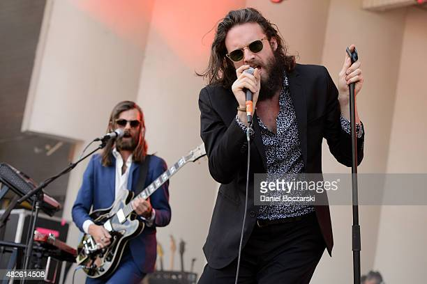 Tillman aka Father John Misty performs during Lollapalooza 2015 at Grant Park on July 31 2015 in Chicago United States