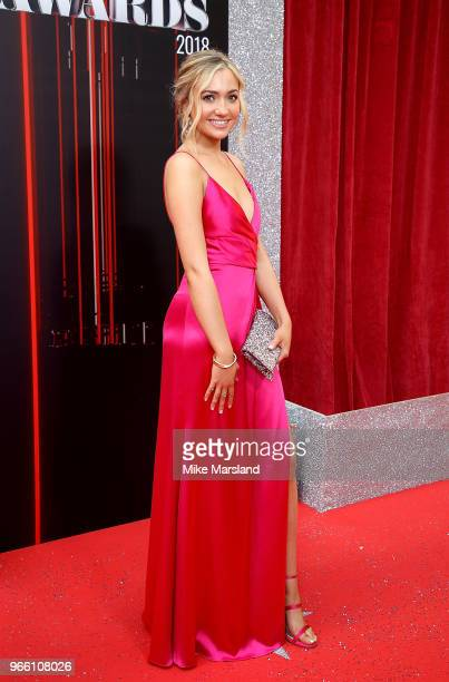 Tilly Keeper attends the British Soap Awards 2018 at Hackney Empire on June 2 2018 in London England