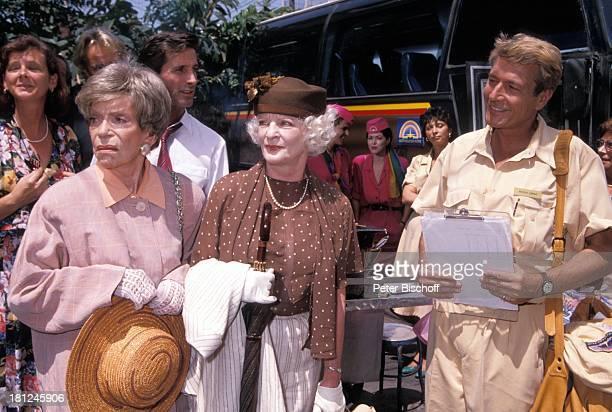 Tilly Lauenstein Elisabeth Wiedemann Amadeus August Touristen PRO 7 Serie Glueckliche Reise Folge 7 Thailand Bangkok/Thailand/AsienBus Hut Tasche...