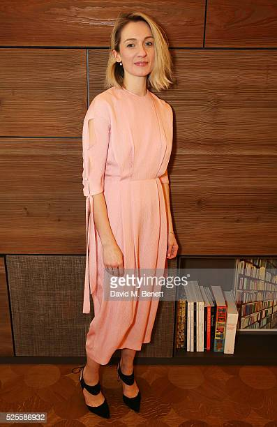 Tilly MaCalister Smith attends the BFC Fashion Trust x Farfetch cocktail reception on April 28, 2016 in London, England.