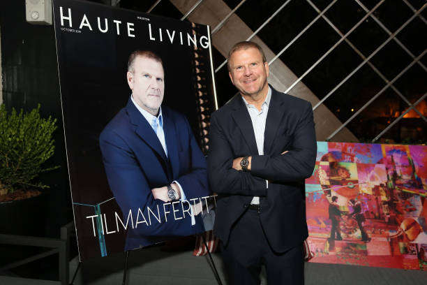 NY: Haute Living And Louis XIII celebrate Tilman Fertitta Cover And Book Release