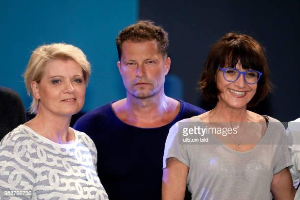 Tilman Valentin Til Schweiger ist Gast bei Sandra Maischbergers Sendung 'Ich stelle mich' Andrea Spatzek Til Schweiger und Nika von Altenstadt am 31...