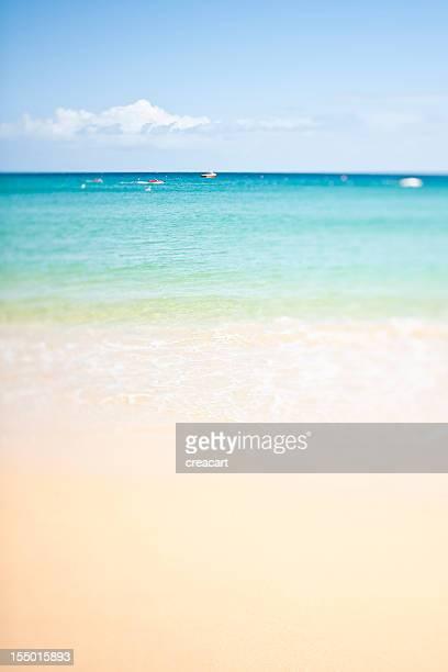 Schrägansicht und Schicht Porthminster Beach, St. Ives Cornwall