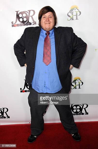 Tilt Tyree arrives for the Premiere Of JR Productions' 'Halloweed' held at TCL Chinese 6 Theatres on March 15 2016 in Hollywood California