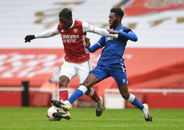 GBR: Arsenal v Everton: Premier League 2