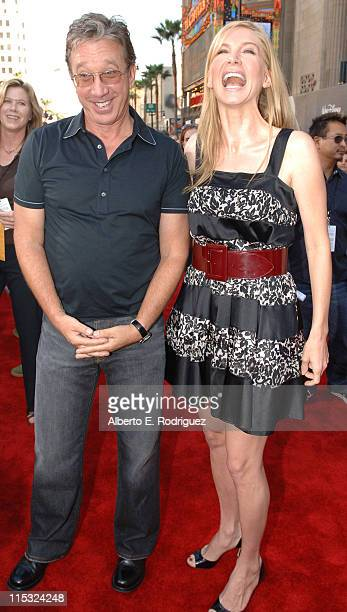 Tim Allen and Elizabeth Mitchell during The Santa Clause 3 The Escape Clause Los Angeles Premiere Red Carpet at El Capitan in Hollywood California...