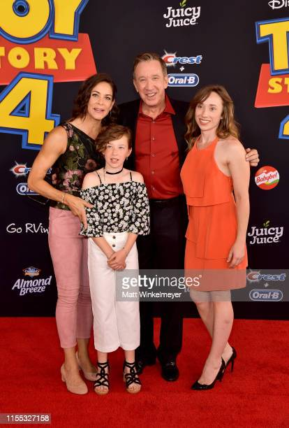 Tim Allen and family attend the premiere of Disney and Pixar's Toy Story 4 on June 11 2019 in Los Angeles California