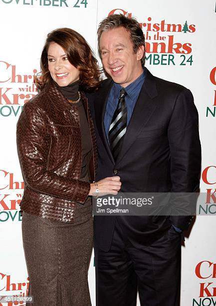 Tim Allen and guest during Christmas with The Kranks New York City Premiere Outside Arrivals at Radio City Music Hall in New York City New York...