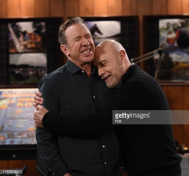 Tim Allen and Hector Elizondo in the Otherwise Engaged episode of LAST MAN STANDING airing Friday, March 15 on FOX.