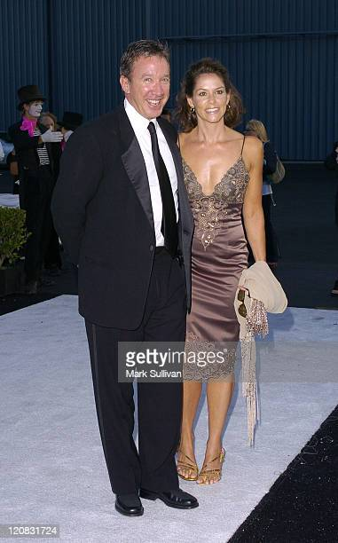 Tim Allen and Jane Hajduk during Robb Report's Best of the Best Los Angeles All Access at Santa Monica Airport /Hanger 8 in Santa Monica California...
