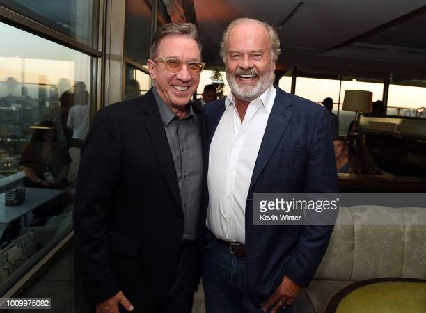 Tim Allen and Kelsey Grammer attends the FOX Summer TCA 2018 AllStar Party at Soho House on August 2 2018 in West Hollywood California