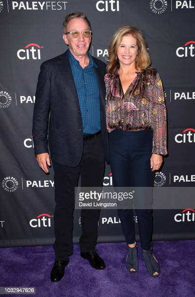 "Tim Allen and Nancy Travis from ""Last Man Standing"" attend The Paley Center for Media's 2018 PaleyFest Fall TV Previews - Fox at The Paley Center for..."
