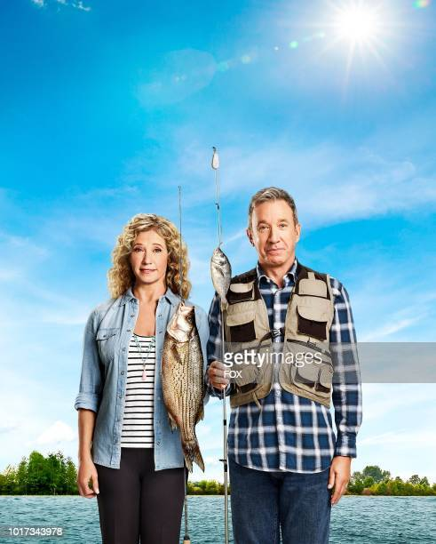 Tim Allen and Nancy Travis