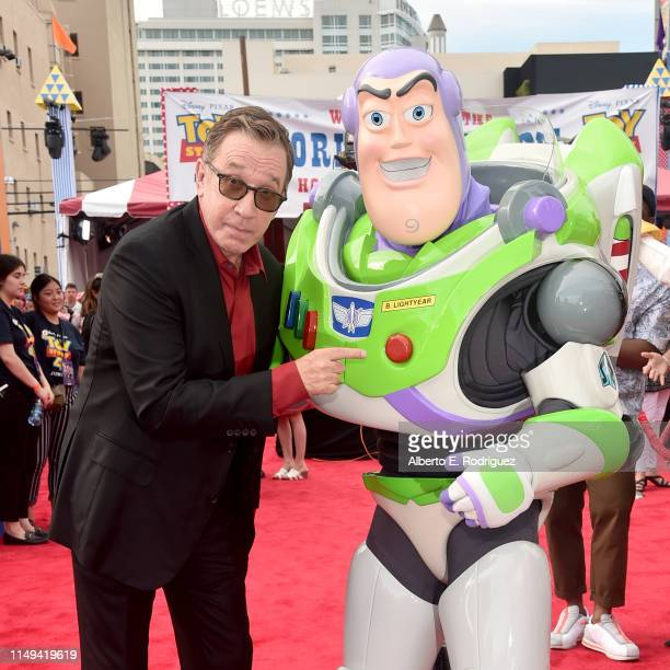 Tim Allen attends the world premiere of Disney and Pixar's TOY STORY 4 at the El Capitan Theatre in Hollywood CA on Tuesday June 11 2019