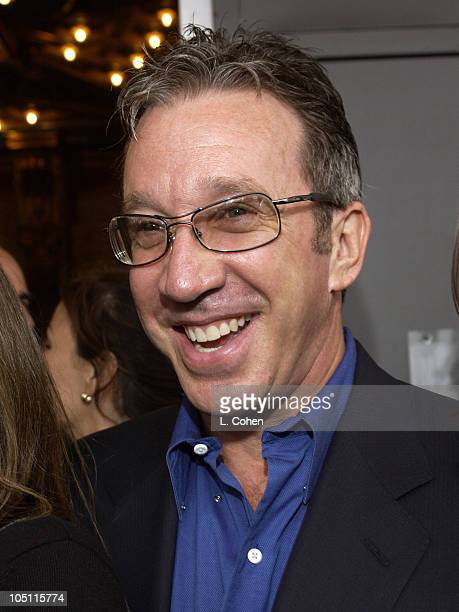 Tim Allen during Opening Night of The Producers Red Carpet at Pantages Theatre in Hollywood California United States