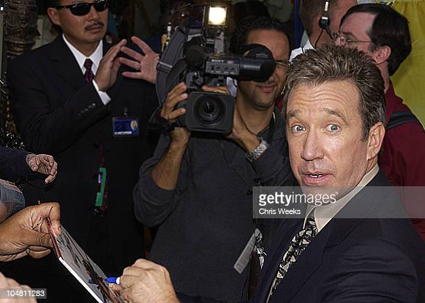 Tim Allen during Premiere of The Santa Clause 2 at El Capitan Theatre in Hollywood, California, United States.