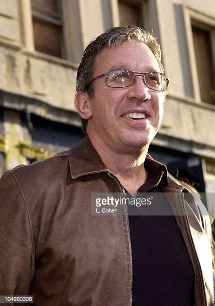Tim Allen during The Lizzie McGuire Movie Premiere at The El Capitan Theater in Hollywood California United States