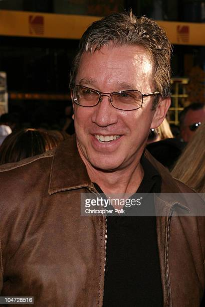 Tim Allen during The Lizzy McGuire Movie Premiere at El Capitan Theater in Hollywood California United States
