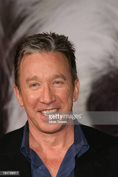 """Tim Allen during """"The Shaggy Dog"""" movie premiere at El Capitan Theater in Hollywood, California, United States."""