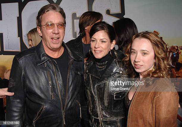 Tim Allen during Wild Hogs Los Angeles Premiere Arrivals at El Capitan Theater in Hollywood California United States