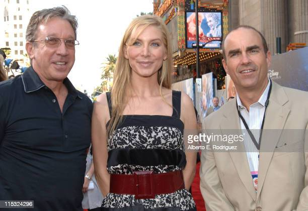 Tim Allen Elizabeth Mitchell and Mark Zoradi Disney