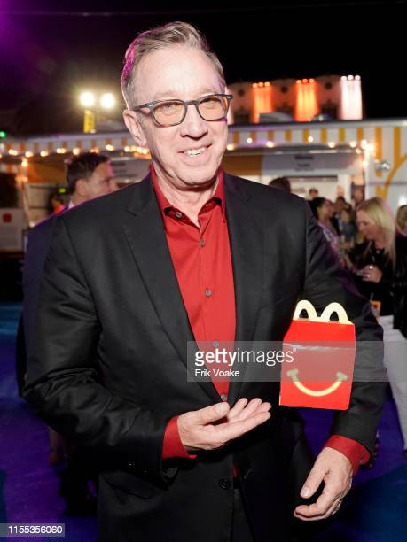 """Tim Allen is seen as McDonald's treats guests to Happy Meals at the """"Toy Story 4"""" Premiere After Party at El Capitan Theatre on June 11, 2019 in Los..."""