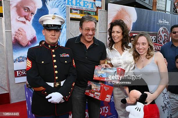 Tim Allen Jane Allen and Kady Allen during The Los Angeles Premiere of Walt Disney Pictures' The Santa Clause 3 The Escape Clause at El Capitan...