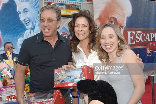 Tim Allen Jane Allen and Kady Allen during The Santa Clause 3 The Escape Clause Los Angeles Premiere Red Carpet at El Capitan in Hollywood California...