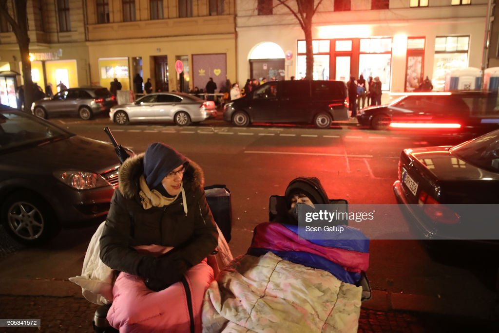 Sneaker Fans Wait For Adidas Berlin Public Transport Shoe Release