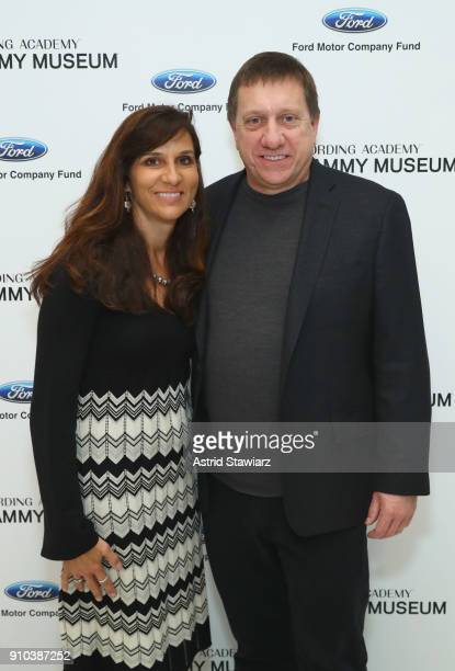 Tim and Mary Louise Bucher pose for a photo together at the GRAMMY Museum®'s ninth annual GRAMMY In The Schools® Live A Celebration Of Music...