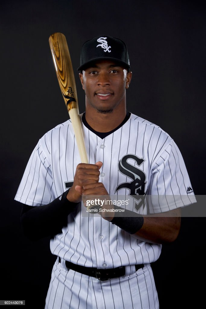 Tim Anderson #7 of the Chicago White Sox poses during MLB Photo Day on February 21, 2018 in Glendale, Arizona.