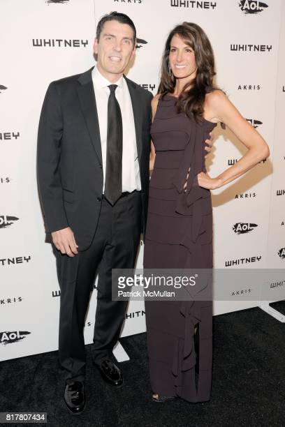 Tim Armstrong and Nancy Armstrong attend WHITNEY MUSEUM of American Art 2010 WHITNEY Gala at The Whitney Museum on October 26 2010 in New York City