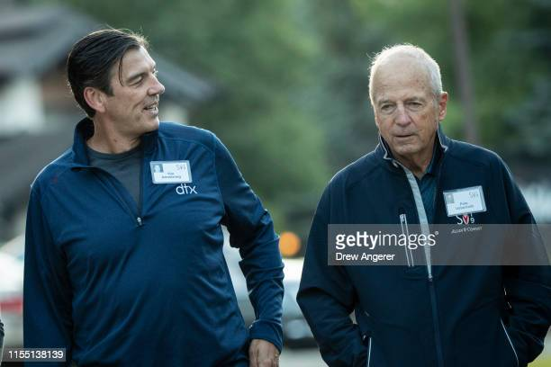 Tim Armstrong, former chief executive officer of Verizon Oath Inc. And former AOL chief executive officer, and Peter Ueberroth, former commissioner...