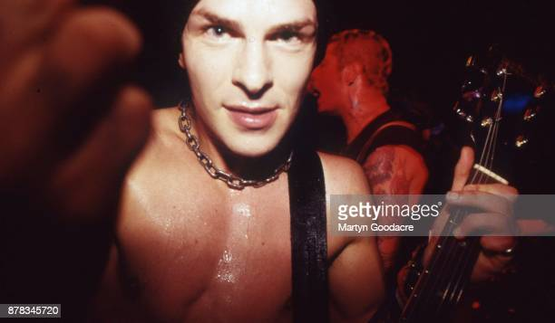 Tim Armstrong of Rancid performs on stage at Paradiso Amsterdam Netherlands 1995