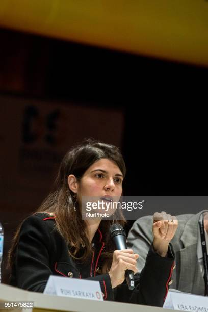Tim BernersLee Antoine Bordes Vinton Cerf Kira Radinsky and Ruhi Sarikaya participated in the roundtable quotAI and the future of the Web and the...