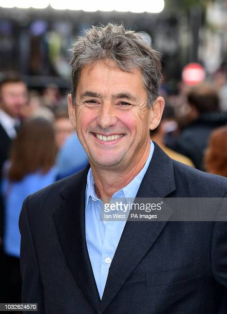 Tim Bevan arriving for the King of Thieves World Premiere held at Vue West End Leicester Square London PRESS ASSOCIATION Photo Picture date Wednesday...