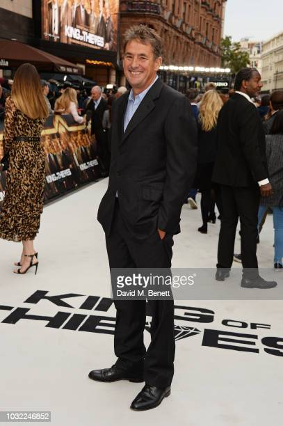 Tim Bevan attends the World Premiere of King Of Thieves at Vue West End on September 12 2018 in London England