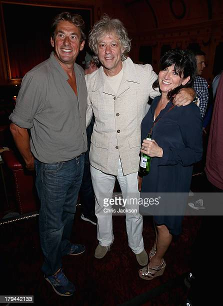 Tim Bevan Bob Geldof and Emma Freud attends the About Time special screening at The Electric Cinema on September 3 2013 in London England